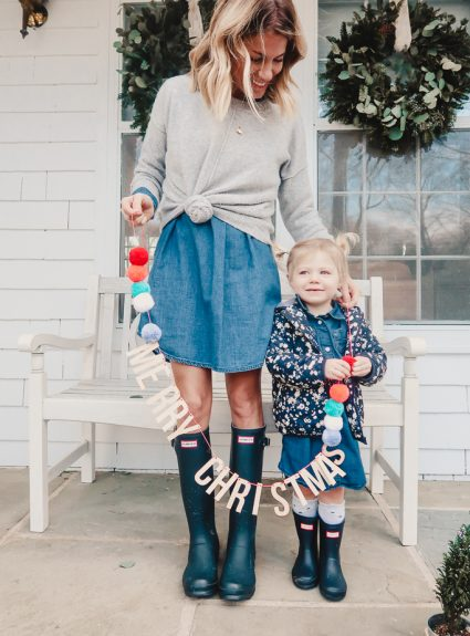Mommy + Me Hunter Boots