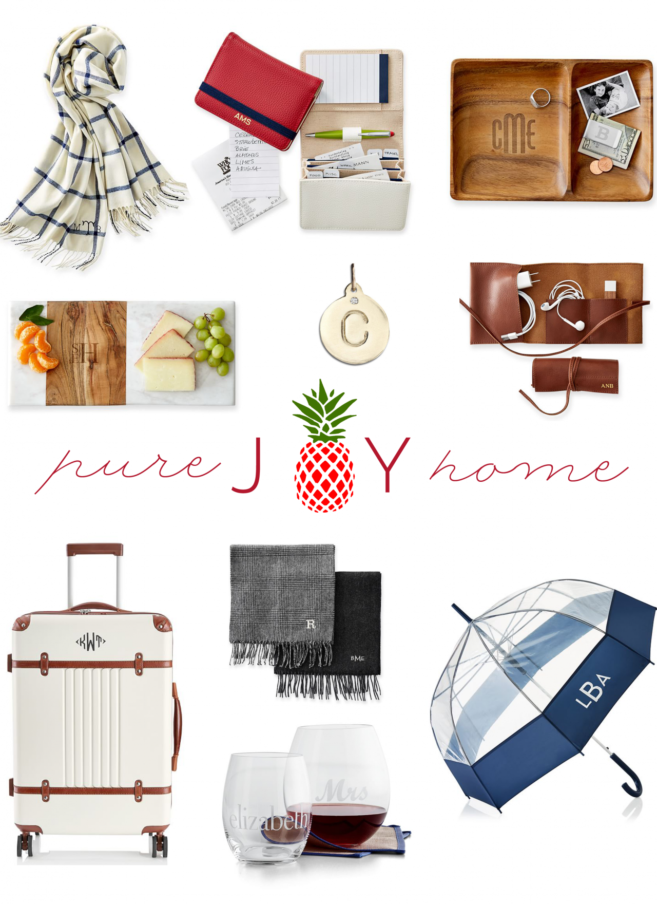 Ten Things Tuesday // Monogrammed Gifts